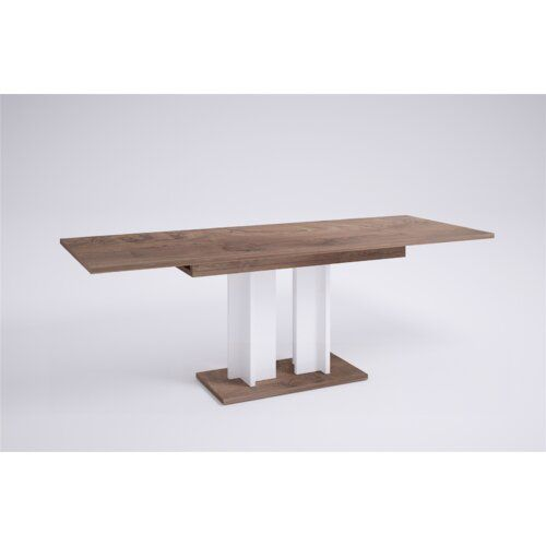 Aurora Extendable Dining Table Brayden Studio Frame Colour And