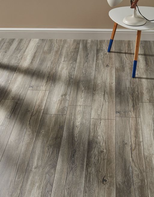 Villa Harbour Oak Grey Laminate Flooring Flooring Direct Wood Flooring Grey Laminate