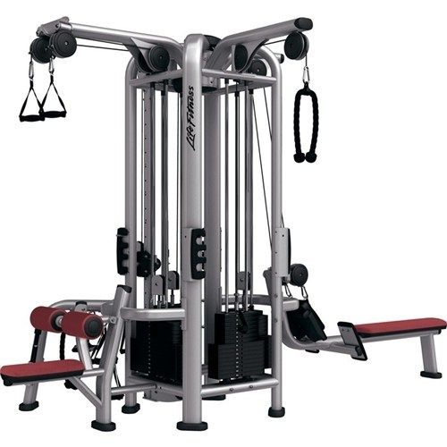 Life Fitness Signature Series Mj4 Multi Jungle Multi Station Gym Primo Fitness At Home Gym Fitness Equipment Design Gym Equipment Workout
