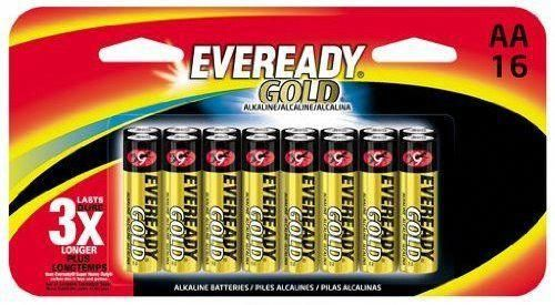Eveready Gold A91bp 16h Aa Battery Is The Answer To A Growing Need For A High Rate Source Of Portable Power Eveready Technology Has Developed The Eveready Goud
