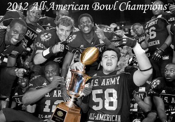 2012 All American Bowl Champions: East. High School Football All American Football Game.