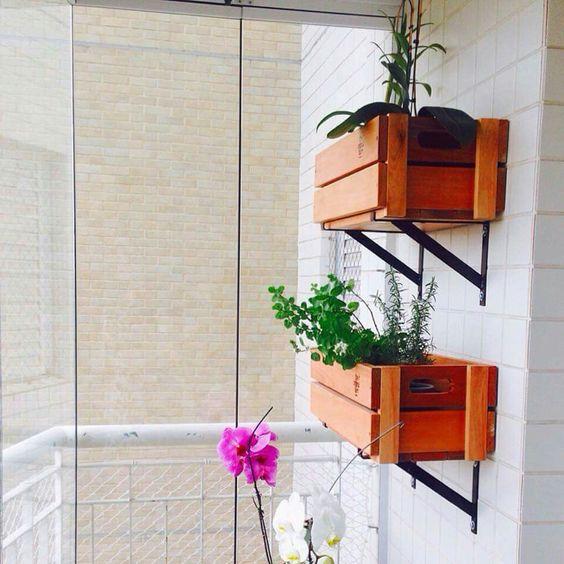 Caixinhas para plantas