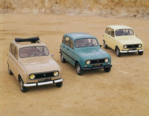 Renault 4, my company car for a while. Brilliant for touring the Sahara...and exploring generally. Somehow, a basket with wine disappeared from the locked boot one day in the village. The boot was still locked when I came back, but no wine!:
