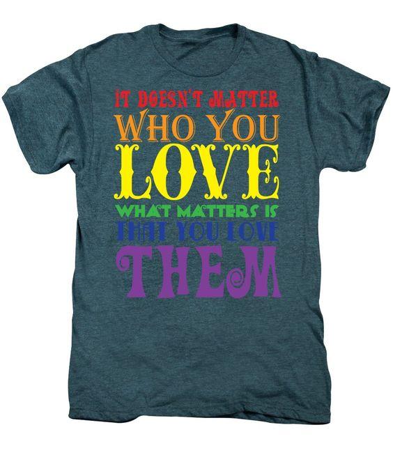 Men's Premium T-Shirt - It Doesn't Matter