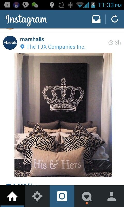 King and queen bedroom decor over our bed! Now to add paint but I love it!  | Home Decor Ideas | Pinterest | Queen bedroom, Queens and Bedrooms - King And Queen Bedroom Decor Over Our Bed! Now To Add Paint But I