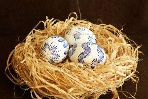 Великденски яйца- писане с восък стъпка по стъпка