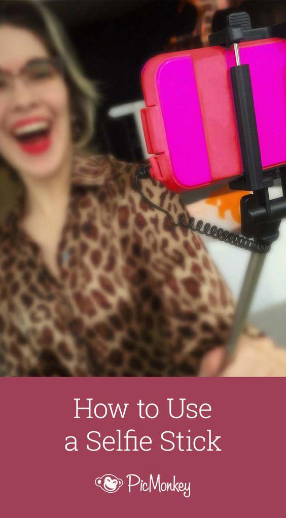 selfie how to use and selfie stick on pinterest. Black Bedroom Furniture Sets. Home Design Ideas
