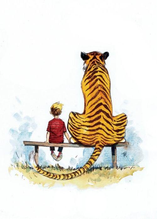 Calvin & Hobbes.  Muito bom =D