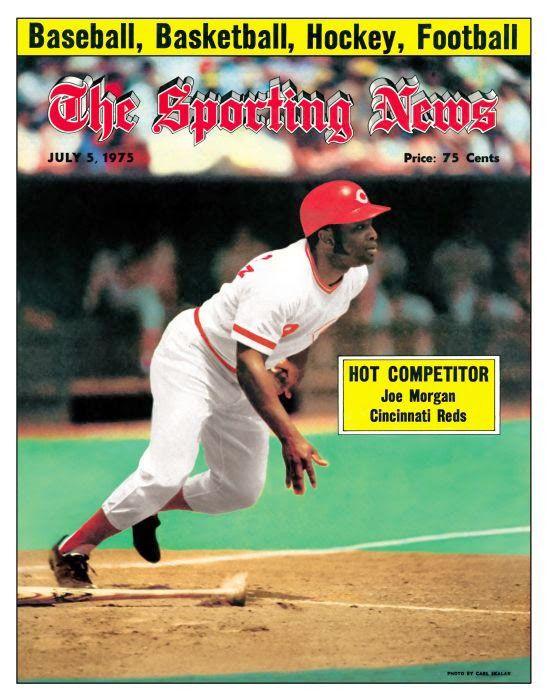 Classic Sporting News Covers Of Baseball Hall Of Famers In 2021 Cincinnati Reds Joe Morgan Cincinnati