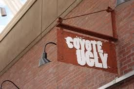 OK, its not food but you should eat before stepping into the wild fun at Coyote Ugly - Denver, CO ;)