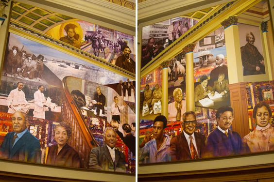Honoring the past at Oakland's African American Museum and Library