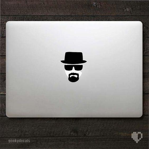 Breaking Bad Macbook Decal.