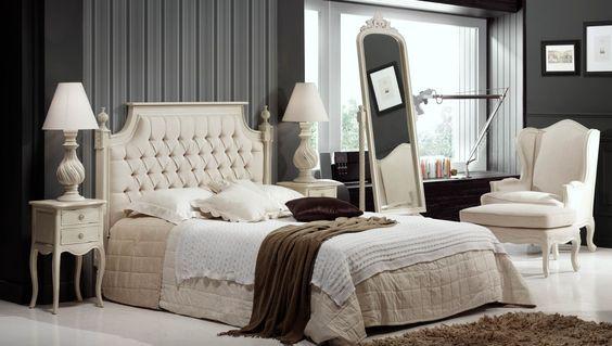Dormitorio Clásico Blanco Danerys