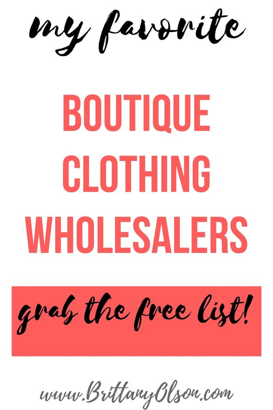 How to find wholesale clothing for online boutique. Online ...