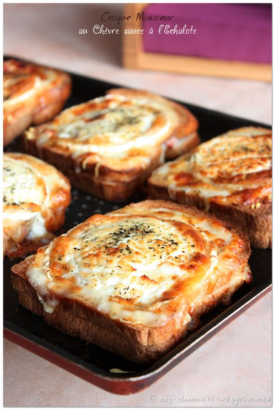 Sauces and croque monsieur on pinterest - Croque monsieur sans bechamel ...