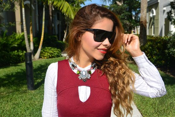 valentines day, valentines day outfit, look outfit, winter outfit, leather pants, peplum, layering, burgundy, mac, sexy outfit, style blogger, pineappleme, tala delgado, statement necklace,