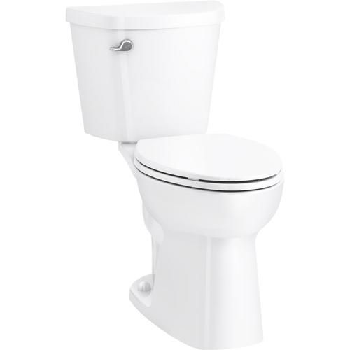 Sterling Garwind White Watersense Elongated Comfort Height 2 Piece Toilet 12 In Rough In Size Ada Compliant Lowes Com In 2020 Water Sense Toilet China Toilet