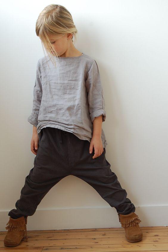 Linen top,Afgan trouser ★
