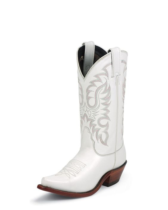 Nocona Women's White Calf Boot | Country Girl at Heart ...