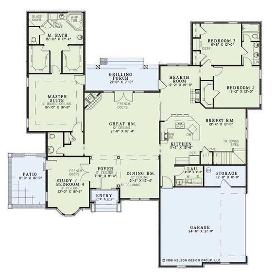 Nelson House Plans Designs House Plans