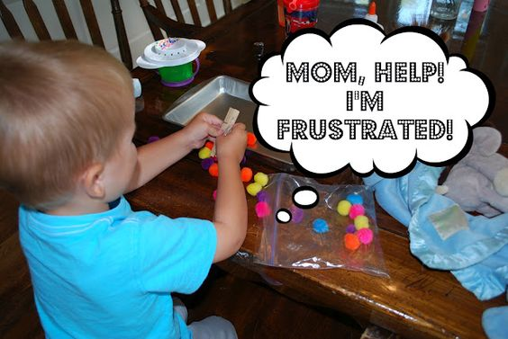 Toddlers are only capable of so much: how to watch for frustration and turn a poor afternoon into a FUN one!
