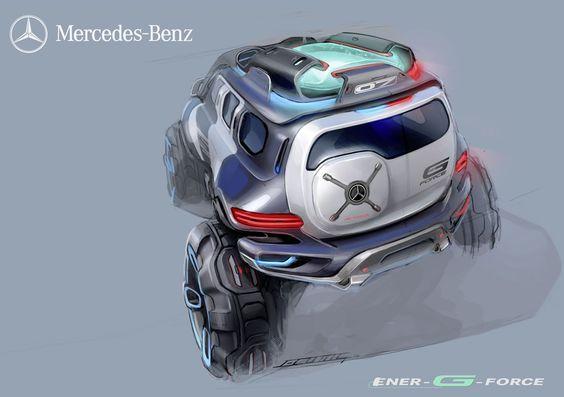 Mercedes-Benz Develops Ener-G-Force Concept for Los Angeles Design Challenge