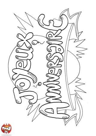 30 Coloriage Joyeux Anniversaire Facile With Images Clip Art