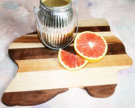 Freeform Found Wood Cutting Board Natural by HouseAcrossTheStreet, $35.00