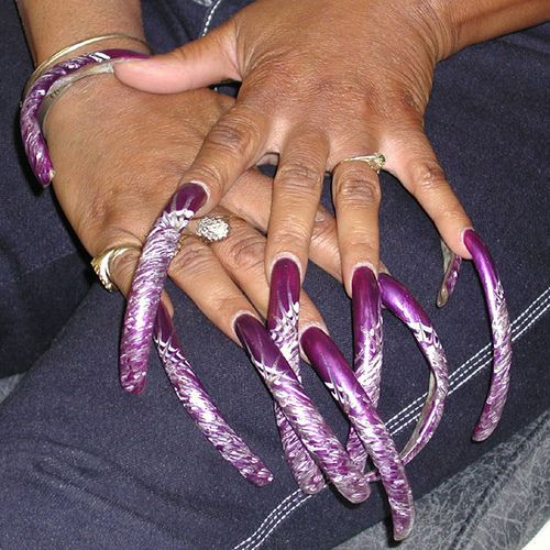 The beauty of long nails on women! - a set on Flickr ... - photo#14