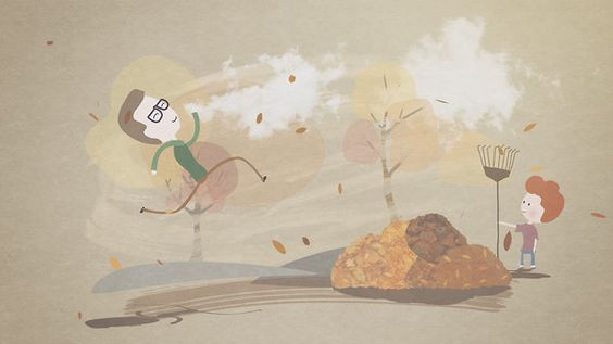 Never Too Late by Phil Borst. Fun little animation made in my spare time. Created in After Effects