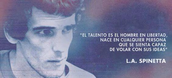El talento es el hombre en libertad...