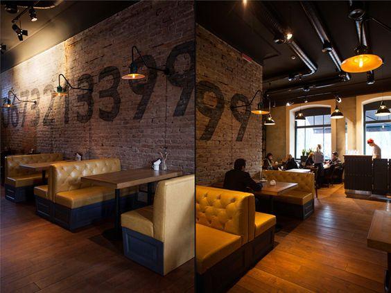 Pasta-Basta Italian restaurant by Soboleva_Storozhuk, Chernygiv  Ukraine   Retail Design Blog   Interior Design   Pinterest   Bar, Restaurant design  and ...