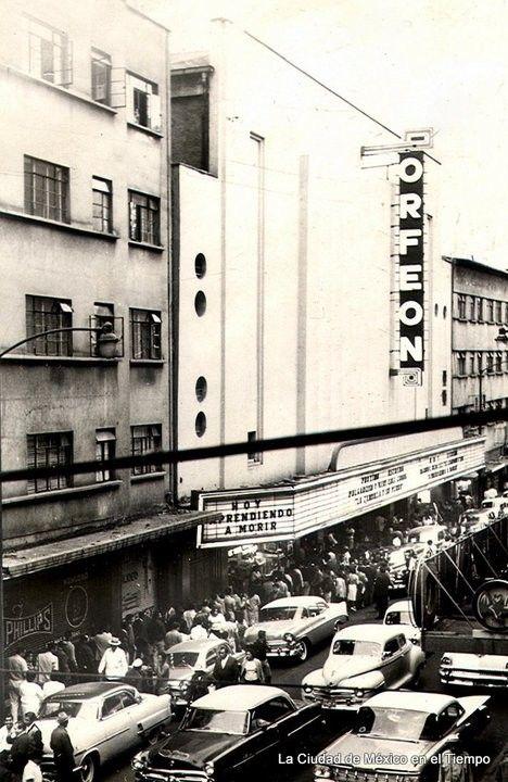 Archivo Fotográfico: Cines y Teatros de la ciudad de México