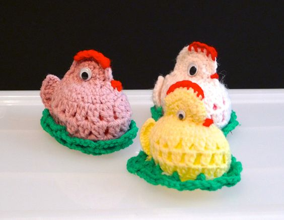 Free Crochet Patterns For Easter Chickens : Chick amigurumi Easter chicks amigurumi Crochet Chicken ...