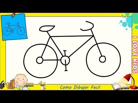 Como Dibujar Una Bicicleta Facil Paso A Paso Para Niños Y Principiantes 3 Youtube Como Dibujar Una Bicicleta Dibujos Faciles Para Niños Cómo Dibujar