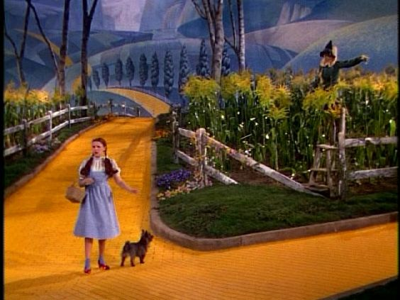 set design wizard of oz petrified forest - Google Search