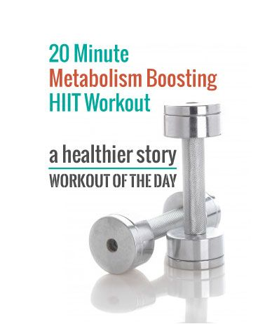 Fantastic, challenging HIIT workout. You just need a weight and a chair. #hiit
