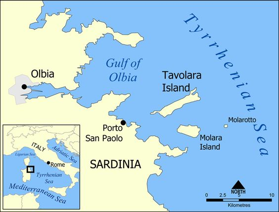 Tavolara Island map - Tavolara Island - Wikipedia, the free encyclopedia