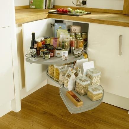 Full Externsion Corner Storage Unit | Kitchen Storage Solutions ...