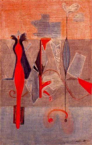 Mark Rothko -  Primeval landscape