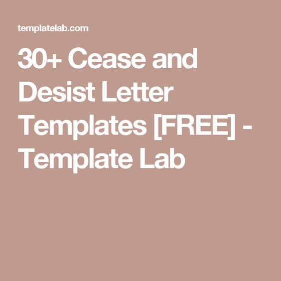 Onisionu0027s Cease and Desist Letter is Hilarious Log Pinterest - cease and desist sample letter