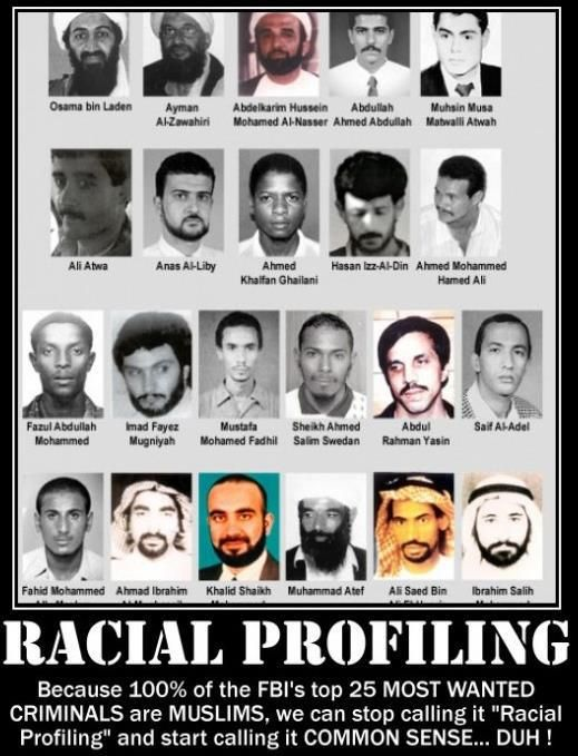 Where in the bible can you find how to deal with racial profiling?