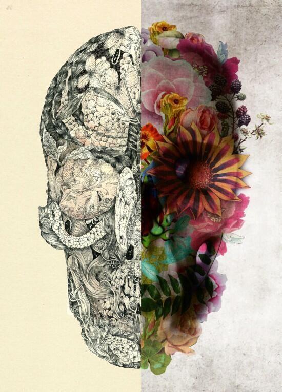 Calabera - Flores