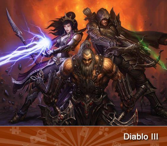 Concept art for Diablo III. Buy it at Micro Center: http://bit.ly/LdnTg6