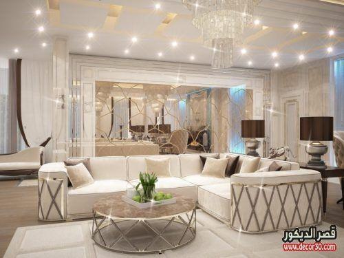 ديكورات منازل داخلية كويتية رائعة توحي بفخامة التصاميم قصر الديكور Holiday Room Lounge Decor Home Decor