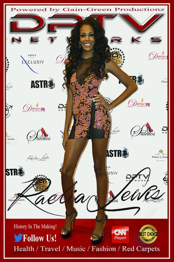 """Raelia Lewis"" Finalist season 21, America's Next Top Model."