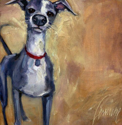 Custom Pet Portraits Sherri Lemire art artist illustration painting home decor dog pet: