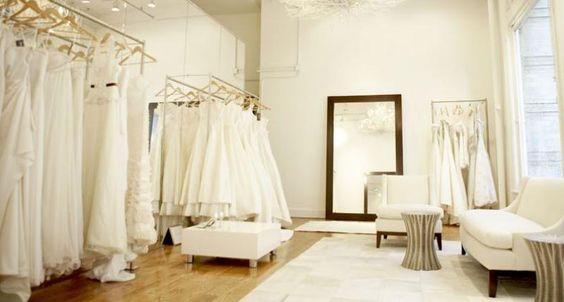 Resultado de imagen de tienda de vestidos novia