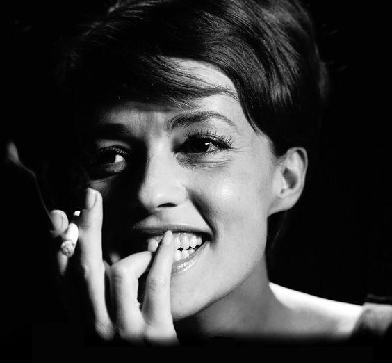 Jeanne Moreau in Jules et Jim (Francois Truffaut, 1962) via moniledebeaute