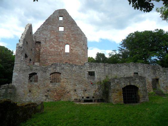 Ruine Schönrain am Main von Otmar Ullrich